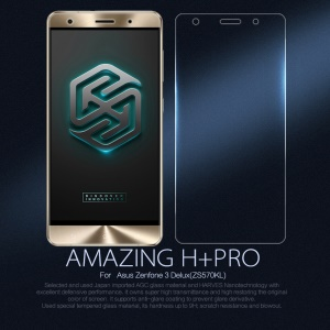 NILLKIN Amazing H+PRO for Asus Zenfone 3 Deluxe ZS570KL Tempered Glass Screen Film Nanometer Anti-Explosion