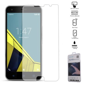 9H Tempered Glass Screen Protector Film for Vodafone Smart Ultra 7 - Transparent