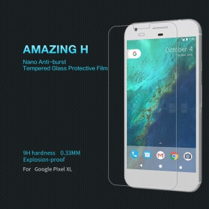 NILLKIN Amazing H for Google Pixel XL Tempered Glass Screen Protector Anti-explosion