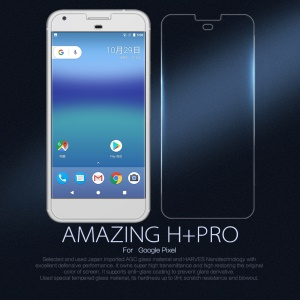 NILLKIN Amazing H+PRO for Google Pixel Tempered Glass Screen Guard Film Nanometer Anti-Explosion