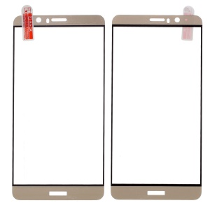Full Size Anti-explosion Tempered Glass Screen Protector for Huawei Mate 9 Arc Edge - Gold