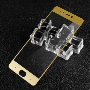 IMAK Complete Screen Covering Tempered Glass Protector Film for Xiaomi Mi 5s - Gold
