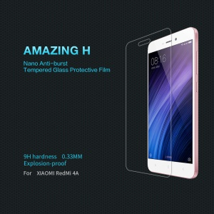 NILLKIN Amazing H for Xiaomi Redmi 4A Tempered Glass Screen Protector Film Anti-explosion