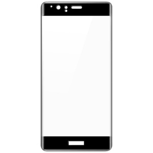 IMAK 3D Curved Full Cover Tempered Glass Screen Protector for Huawei P9 Plus - Black