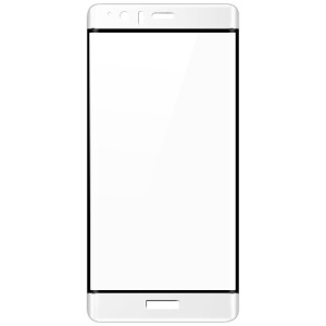 IMAK 3D Curved Full Tempered Glass Screen Protector Guard Film for Huawei P9 Plus - White