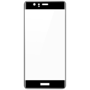 IMAK 3D Curved Full Cover Tempered Glass Screen Protector for Huawei P9 - Black