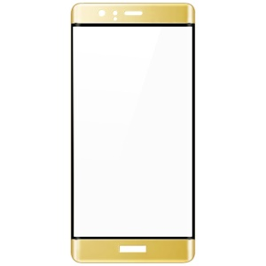 IMAK 3D Curved Complete Cover Tempered Glass Screen Protector for Huawei P9 - Gold