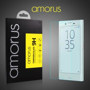 AMORUS 9H Arc Edge Anti-explosion Tempered Glass Screen Protector for Sony Xperia X Compact