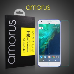 AMORUS 9H Anti-explosion Tempered Glass Screen Protector for Google Pixel XL Arc Edge