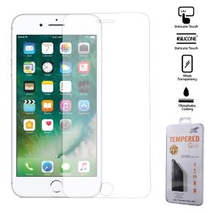 For iPhone 7 Plus Clear Full Coverage Tempered Glass Screen Protector Guard 0.3mm (Arc Edge)