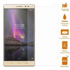 0.3mm Tempered Glass Screen Protector Guard for Lenovo Phab2 Plus 6.4 inch (Arc Edge)