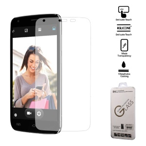 9H Tempered Glass Screen Protector Guard Film for Doogee T6 (Arc Edge)