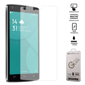 For Doogee X5 Max Tempered Glass Film Screen Guard Arc Edge