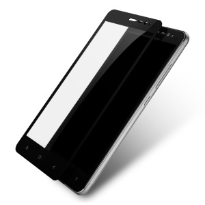 LENUO CF HD Clear Full Screen Tempered Glass Protector for Xiaomi Redmi Note 3 Pro Special Edition - Black