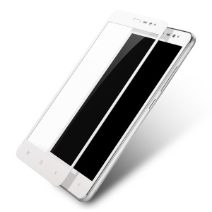 LENUO CF HD 9H Full Tempered Glass Screen Protector for Xiaomi Redmi Note 3 Pro Special Edition - White