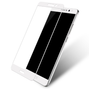 LENUO CF HD 9H 2.5D Full Size Mobile Tempered Glass Screen Guard Film for Huawei Mate 9 - White