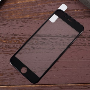 KANJIAN 0.18mm PET Soft Edges Full Tempered Glass Screen Protector for iPhone 6s Plus/6 Plus - Black