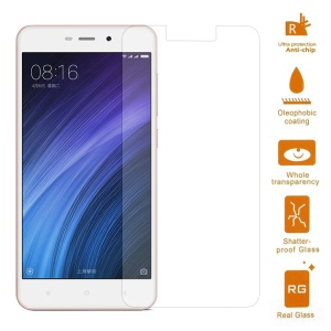 For Xiaomi Redmi 4a Tempered Glass Screen Protector Film 0.3mm (Arc Edge)