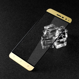 IMAK Complete Covering Mobile Tempered Glass Screen Film for Asus Zenfone 3 ZE520KL - Gold