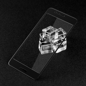 IMAK Full Cover Mobile Tempered Glass Screen Protector for Asus Zenfone 3 Max ZC520TL - Black