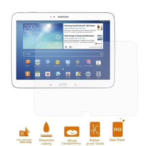 0.3mm Tempered Glass Screen Protector for Samsung Galaxy Tab 3 10.1 P5200 P5210 (Arc Edge)