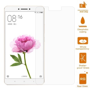 For Xiaomi Mi Max Tempered Glass Mobile Screen Protector Film 0.3mm (Arc Edge)