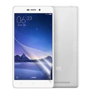 For Xiaomi Redmi 3 Ultra Clear LCD Mobile Phone Screen Protector Film