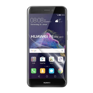 Clear LCD Screen Protector Guard Film for Huawei P8 Lite (2017) / Honor 8 Lite