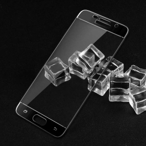 IMAK Full Cover Mobile Tempered Glass Screen Protector for Samsung Galaxy A5 (2017) - Black