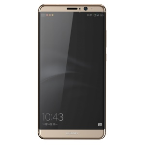 BASEUS 0.3mm Tempered Glass Screen Guard Full Coverage for Huawei Mate 9 - Gold