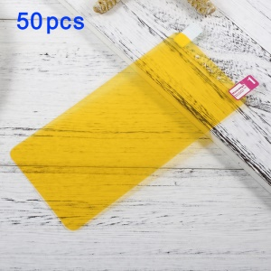 50Pcs/Set for Xiaomi Redmi Note 4 Full Coverage Soft LCD Screen Protector Films
