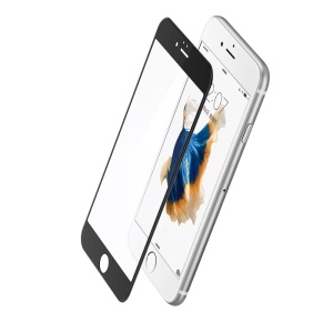 BASEUS for iPhone 6s Plus/6 Plus 3D Curved Frosted Surface Anti-blue-ray Full Tempered Glass Screen Protector - Black