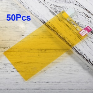 50Pcs/Set for Sony Xperia X Compact Full Size Soft Front Screen Protector Films