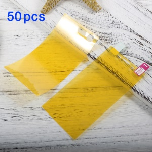 50Pcs/Set Full Size Soft Front Screen Films + Back Film Protectors for Sony Xperia X Compact