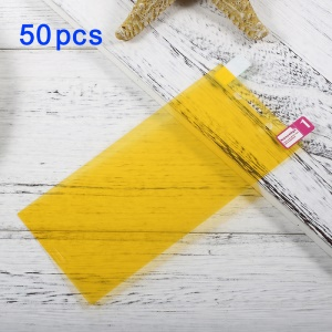 Pour Sony Xperia XZs / XZ 50Pcs / Set Full Screen Coverage Soft Mobile Protector Films