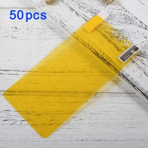 50Pcs/Set Full Screen Cover Soft Mobile LCD Protector Film for Huawei Mate 9