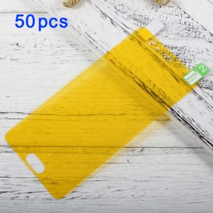 50Pcs / Set para Huawei P10 Cobertura completa Soft Mobile LCD Screen Protector Films