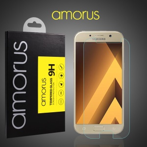 AMORUS Mobile Tempered Glass Screen Protector Guard for Samsung Galaxy A5 (2017) A520