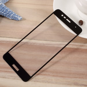For Asus Zenfone 3 Max ZC520TL Full Screen Cover Tempered Glass Mobile Protector Film - Black