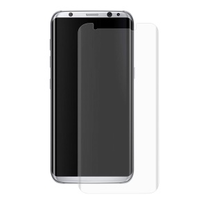 HAT PRINCE Curved Ultra Clear PET Full Covered Screen Protector Film for Samsung Galaxy S8 Plus