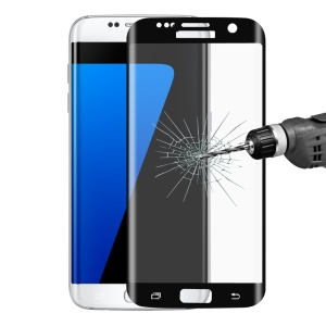 Hut Prinz von 3, 3 mm 3D voll Tempered Glass Screen Protector für Samsung Galaxy S7 Edge G935-schwarz