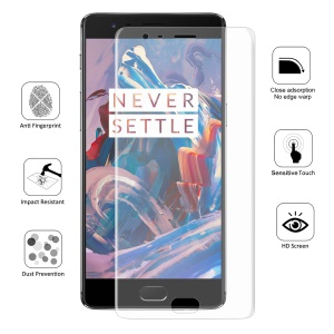 HAT PRINCE 0.1mm Full Coverage Screen Guard for OnePlus 3 / 3T - Transparent