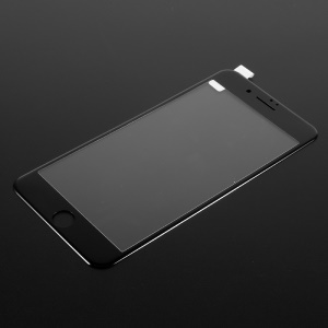 Full Coverage Carbon Fiber Edge Anti-blue-ray Tempered Glass Screen Protector for iPhone 7 Plus - Black