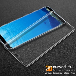 IMAK for Samsung Galaxy S8 SM-G950 3D Curved Full Covering Tempered Glass Screen Guard - Transparent