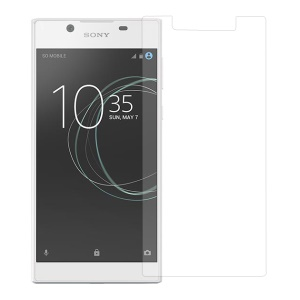 For Sony Xperia L1 Phone Tempered Glass Screen Protector Film 0.3mm (Arc Edge)