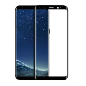 HOCO Curved Tempered Glass Full Screen Protector Film for Samsung Galaxy S8 G950 - Black