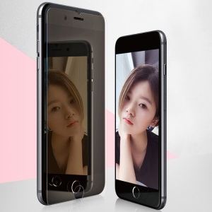 BASEUS 0.3mm Mirror Full Glue Tempered Glass Screen Guard Film for iPhone 8/7