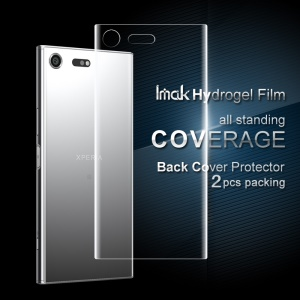 IMAK Back Soft Hydrogel Protector Film pour Sony Xperia XZ Premium 2 Pcs Emballage