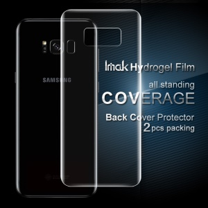 IMAK 2 Pcs Packing Back Soft Hydrogel Protector Film for Samsung Galaxy S8+ SM-G955