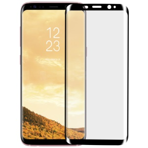 MOMAX 0.3mm 3D Full Cover Anti-explosion Tempered Glass Film for Samsung Galaxy S8+ SM-G955 - Black
